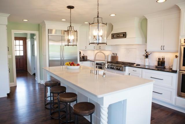 Timeless White Kitchen Traditional Kitchen Milwaukee By