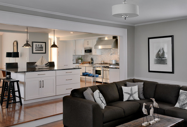 Oceanfront Gambrel Traditional Kitchen Boston By