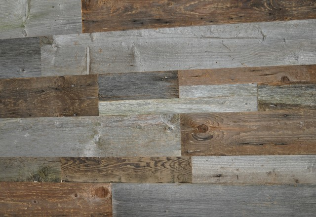 Reclaimed Wood Wall Covering DIY Barn Board Mixed Sizes