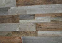 Reclaimed Wood Wall Covering DIY Barn Board Mixed Sizes ...