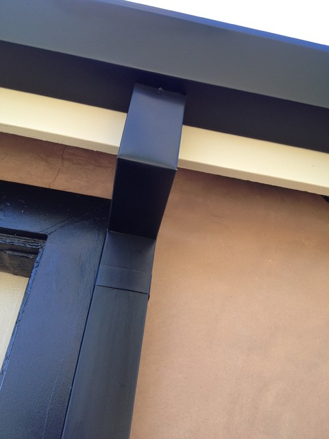 houzz dining chairs contemporary lower back support for office chair custom cut downspouts with rain gutters in costa mesa - exterior ...