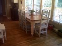 Farmhouse kitchen table and chairs - Traditional - Kitchen