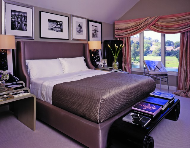 Art Deco Inspired Contemporary Bedroom Los Angeles By Tracy Murdock Allied ASID