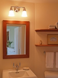 Edgartown Dormer Renovation - Bathroom - Boston - by Katie ...