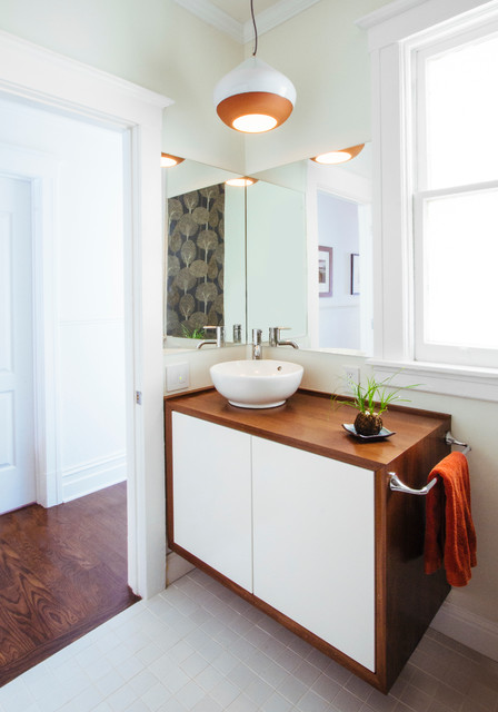 San Francisco Bathroom Remodel  Midcentury  Bathroom