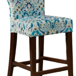 Safavieh Dining Chairs Spinning Top Chair Avila Tufted Back Counter Stool - Contemporary Bar Stools And By Olliix