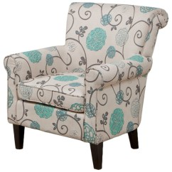 Teal Club Chair Retro Patio Chairs Roseville Floral Design Mediterranean Armchairs And
