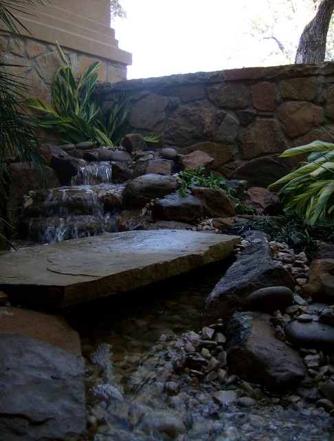 alicia's entryway water feature
