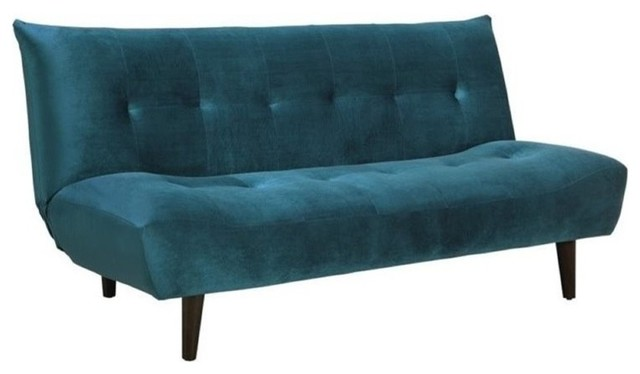 vegas futon sectional sofa bed queen sleeper with storage red leather corner bowery hill upholstered sofa, green - ...