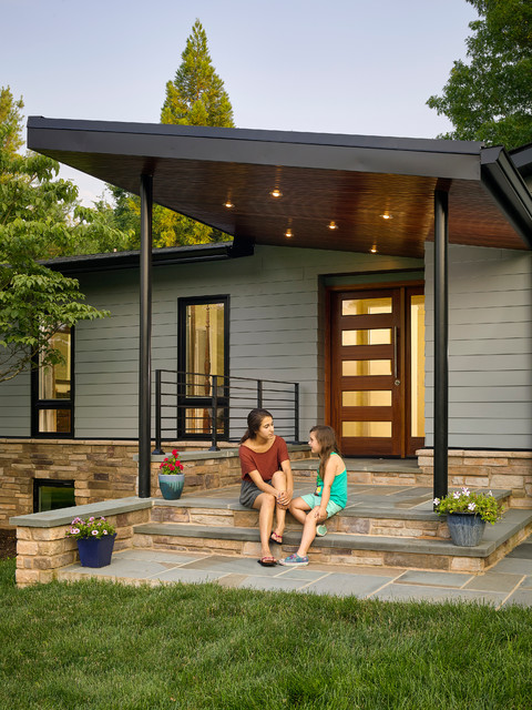 Modern Porch  Midcentury  Porch  Baltimore  by place
