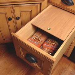 Schrock Kitchen Cabinets Sinks Houzz Bread Drawer - Traditional Cleveland By ...