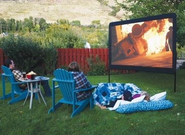 Camp Chef Outdoor Movie Screen