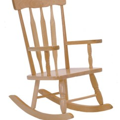 Kids Wood Rocking Chair Etac Shower Parts Colonial Child S Rocker Contemporary Chairs By Steffy Products Inc