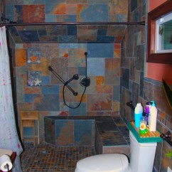 Handicap Shower Chairs Wheelchair India Custom Tile Stand-up - Contemporary Bathroom Cleveland By Jm Design Build
