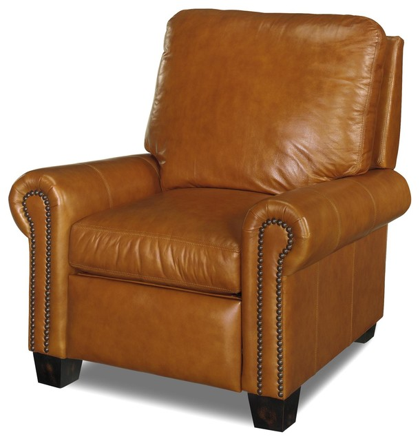 leather recliner chairs professor chair uk classic style traditional