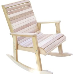 Cedar Rocking Chairs Back Support Chair Cushion Wood Country T L Red Transitional Outdoor By The Porch Swing Store