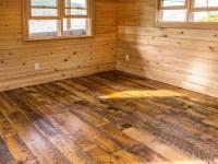 Wide Plank Reclaimed Heart Pine Floor - Rustic - by ...