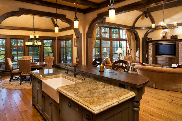 Elegant English Country Home  Traditional  Kitchen  Minneapolis  by Kyle Hunt  Partners