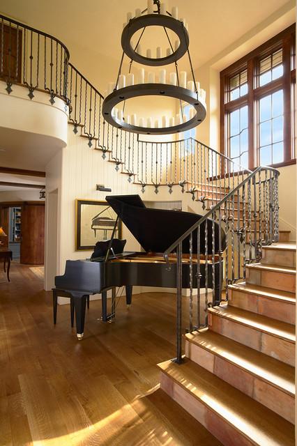 Elegant Stairs  Traditional  Staircase  minneapolis