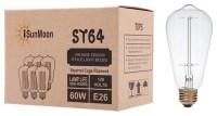 iSunMoon 60 Watt Edison Style Light Bulb, 1 Pack, Antique ...