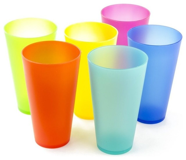 6 pack reusable colorful