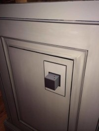 Kitchen Island outlet pop out by Legrand Adorne