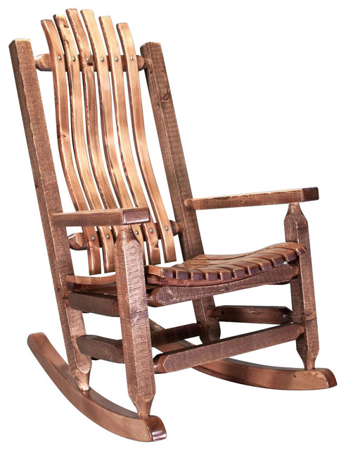Shop Houzz  Montana Woodworks Rocking Chair in Stained