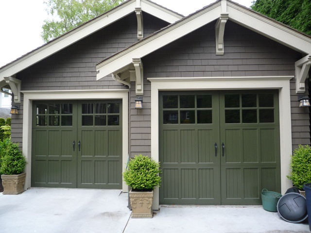 Heritage Wood Garage Door  Craftsman  Shed  Other  by