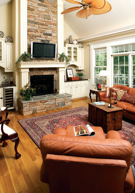 The Satchwell  Plan 967  Craftsman  Living Room