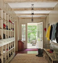 Mud Room - Farmhouse - Entry - New York - by Haver ...