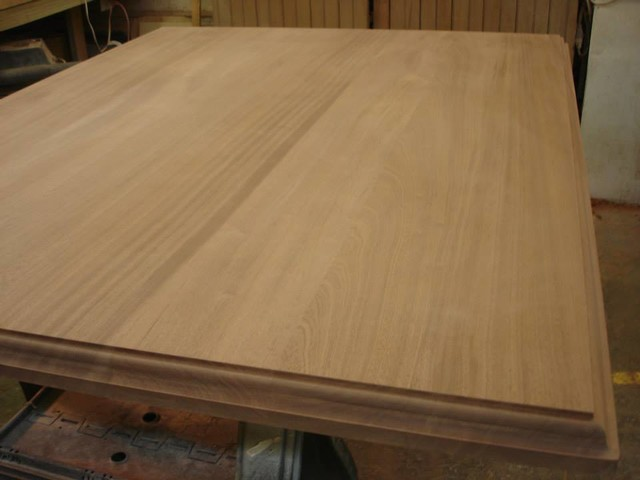 MAKING A SOLID WOOD COUNTERTOP  Traditional  Kitchen Countertops  boston  by Sprague Woodworking