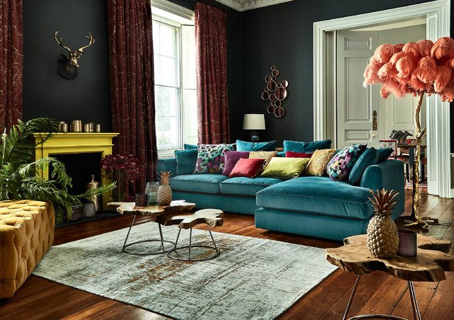 Eclectibles eclectic-living-room