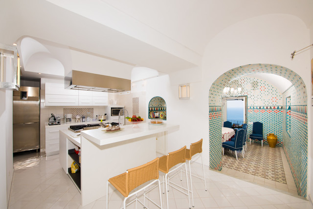 Villa Eden Positano  Cucina e Sala da pranzo  Contemporaneo  Cucina  Napoli  di Vito Fusco