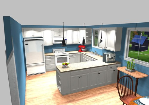 Lowes Kitchen Remodel design before and after