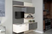 Contemporary Condo Style - Contemporary - Kitchen ...
