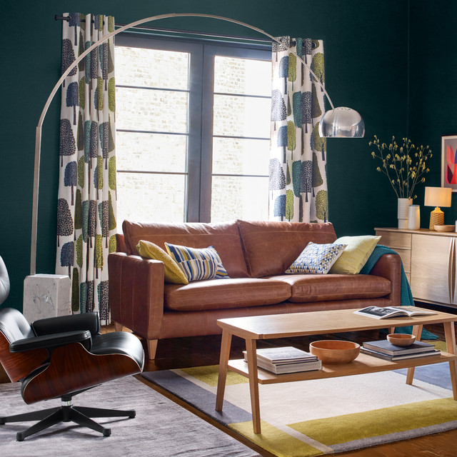 John Lewis Scandi Living Room Midcentury Living Room