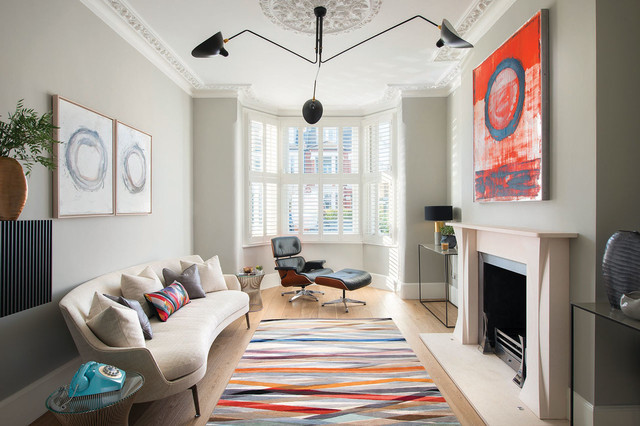 Chiswick Family Home contemporary-living-room