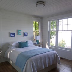 Living Rooms With Blue Area Rugs Full Size Mirror In Room Cottage - Beach Style Bedroom Toronto By Ridley ...