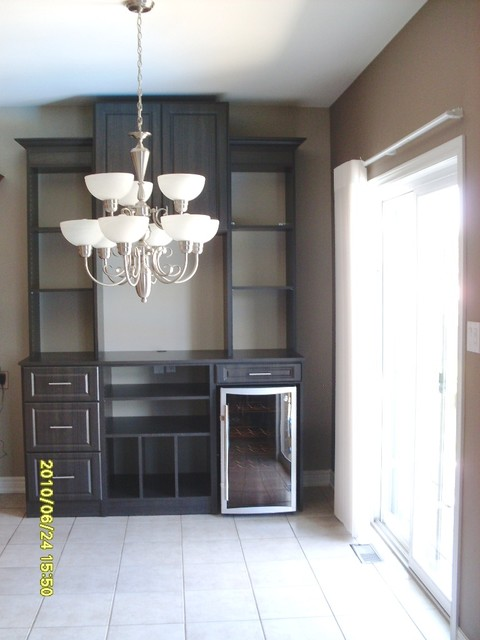Dining Room Buffet  Hutch  Modern  Dining Room