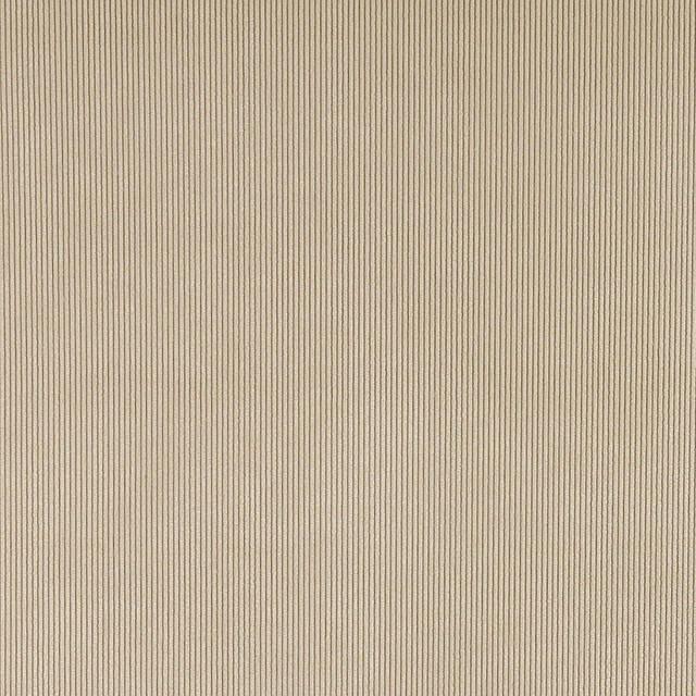 Beige Corduroy Thin Stripe Upholstery Velvet Fabric By