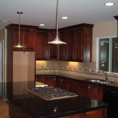 Home Depot Kitchen Remodeling Havertys Tables Custom Dark Mahogany Stained Maple