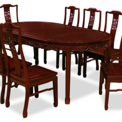 Chinese Rosewood Dining Table And Chairs Recliner Chair Covers 80 Set With 8 Dragon Design Asian Sets By China Furniture Arts