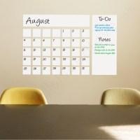 Shop Houzz | WallsNeedLove Dry Erase Calendar Decal - Wall ...