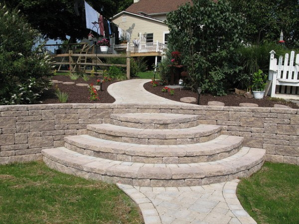 creative outdoor stairs options