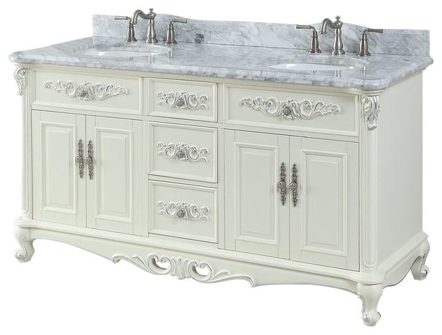 64 verondia classic double sink bath vanity