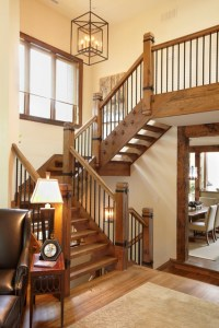 The Cottage - Rustic - Staircase - Toronto - by Parkyn Design