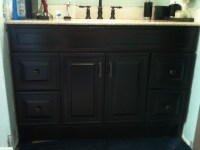 Bath Remodel - Oil Rubbed Bronze Look - Contemporary ...