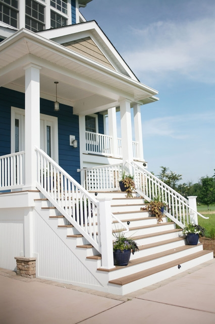 Entry Refresh Step Up Your Front Porch Stairs   Front Porch Stairs Design   Front Roofing   Small   Stone   Verandah Step   Beautiful