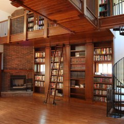 Rolling Chairs For Office Small Recliner Chair Library Ladder - Traditional Living Room Milwaukee By Custom Service Hardware, Inc