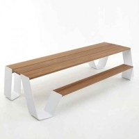 Modern Picnic Table - Modern - Outdoor Dining Tables - by ...